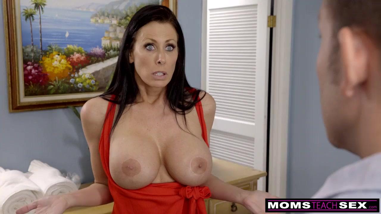 Amateur Big Tit Mom Son