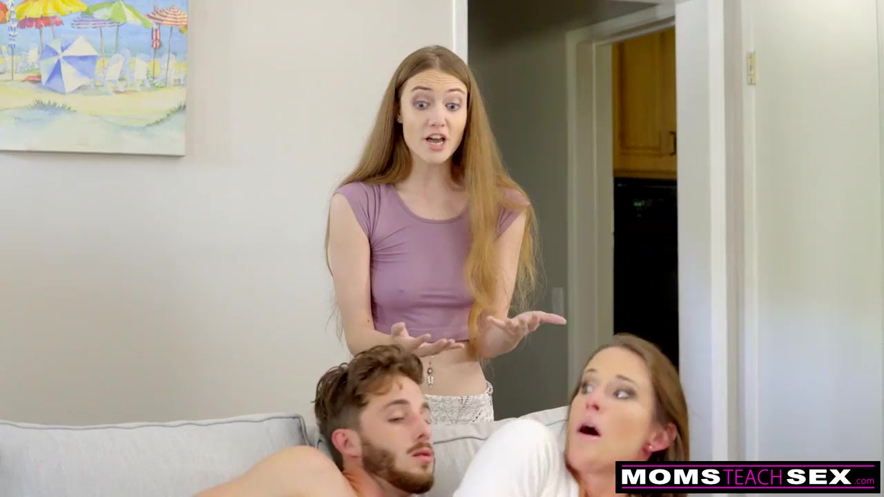 sexy mom has sex with son